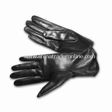 Ladys Gloves in Various Colors, Made of Real/PU Leather, OEM/ODM Orders are Welcome
