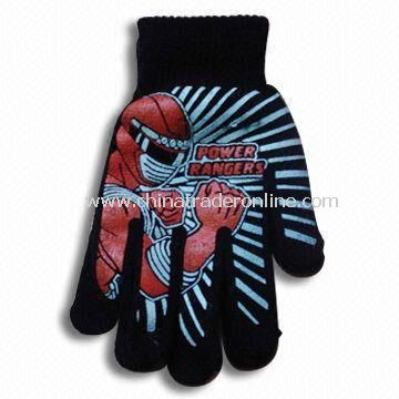 Magic Gloves, Printed Design, Customized Logos or Designs are Accepted