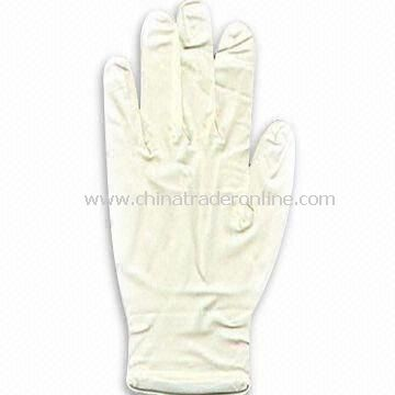 Medical Latex Gloves with 230 to 240mm Length, Available in Various Sizes