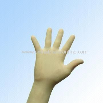 Powder-Free Latex Examination Glove in Assorted Sizes for Selection