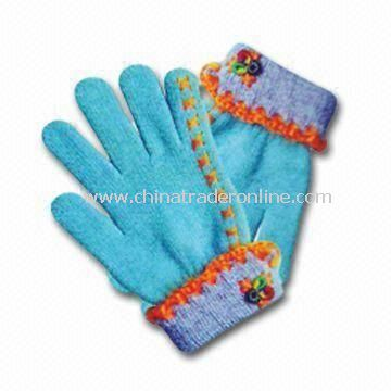 Winter Gloves, Made of 100% Cotton, Available in Customized Design