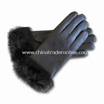 Winter Gloves, Made of 100% Wool and Cotton, Customized Designs are Accepted from China