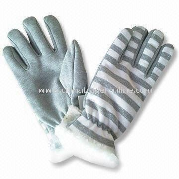 Womens Gloves for Winter Use, Made of Acrylic/Wool, Customized Designs are Accepted