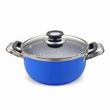 High Quality Saucepan, Made of Iron/Nonstick Coating, Easy to Clean and Good Choice for Cooking