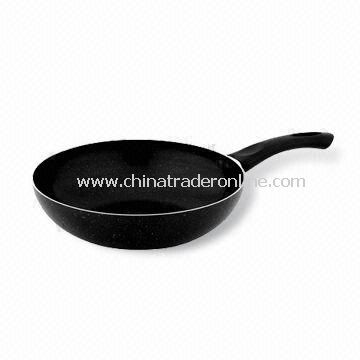Marble Painting Wok, Made of Qualified Aluminum Alloy, Suitable for Kitchen