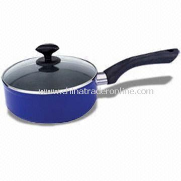 Milk Boiler/Saucepan, Non-stick Coating, Made of Aluminum, Corrosion Resistant