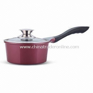 Non-stick Saucepan with 16cm Diameter, Made of Aluminum