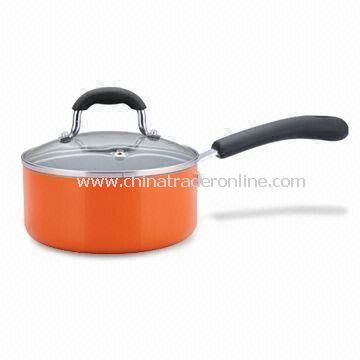Sauce Pan with 1.8 to 4mm Thickness, Available in Various Sizes from China