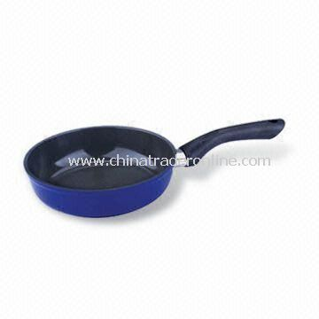 Wok with Glass Lid, Non Stick Coating, Made of Aluminium, Optional Colors