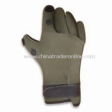 Aqua Fitness Glove, OEM Orders are Welcome, Made of Lycra and Soft EVA