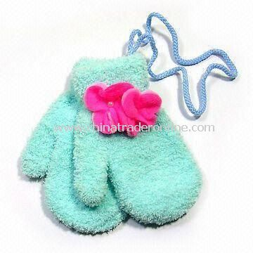 Childrens Gloves, Made of 100% Cotton, Available in Customized Design from China