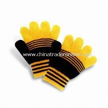Childrens Gloves, Made of 100% Cotton, Customized Designs are Accepted