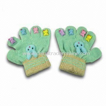 Childrens Gloves, Made of 100% Cotton, Eco-friendly