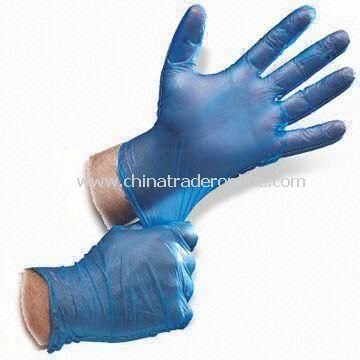 Disposable PVC Gloves, Powder-free, Available in Size of S, M, L and XL from China