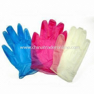 Disposable PVC Gloves, Suitable for Medical Use, Measures S, M, L and XL