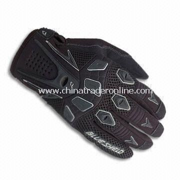 High-quality Sports Glove, Non-slip on Palm, Anti-bacterial and Good Flexible