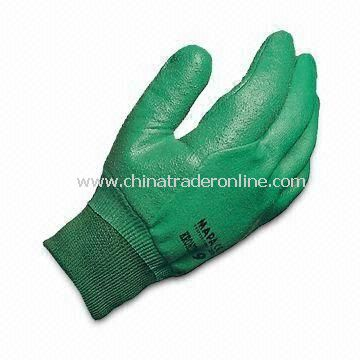 OEM Safety Gloves, Available in S, M and L Sizes, Made of Cotton, with PVC Coating