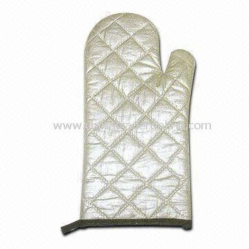 Oven Mitts/Gloves, Made of 100% Cotton, Eco-friendly, Keeps Hands Away from Heat
