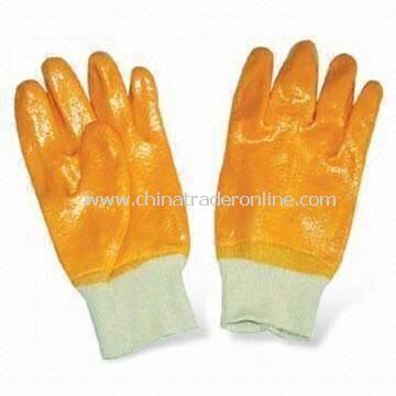 PVC Industrial Gloves, Customized Colors, Material and Sizes are Accepted
