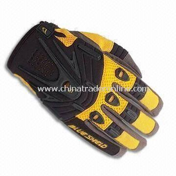 Fashionable Sports Glove for Motorcycle Driver, Easy to Adjust, Made of Palm, Nylon Elastic