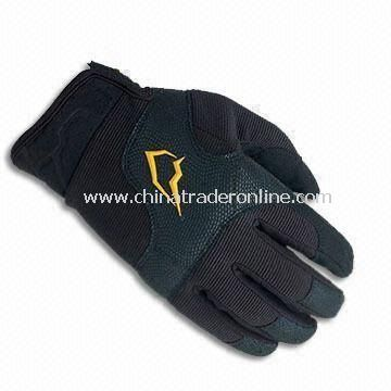 Fashionable Sports Glove with Excellent Design, Warm and Comfortable, Available in Various Material from China