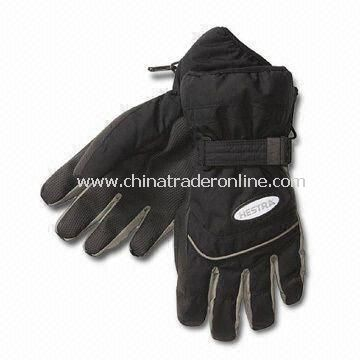 Fashionable Winter Gloves, Customized Embroideries are Welcome