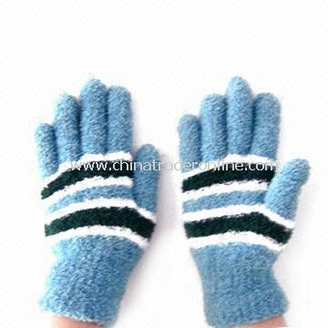Fashionable Winter Micro Fiber Knitted Magic Gloves, Suitable for Ladies, Made of Polyester/Spandex
