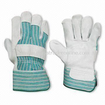 Welding Gloves, Made of Cowhide Leather, Comes in Various Colors