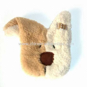 Bath Gloves, Available in Various Colors, Made of Soft Plush