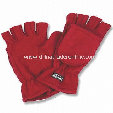 Gloves in Customized Designs, Made of Fleece
