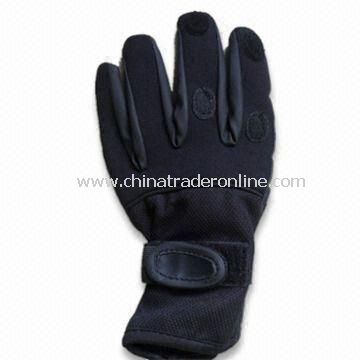 Neoprene Weight Gloves for Sports, Easy On and Off, Elastic Nylon Breathable Back