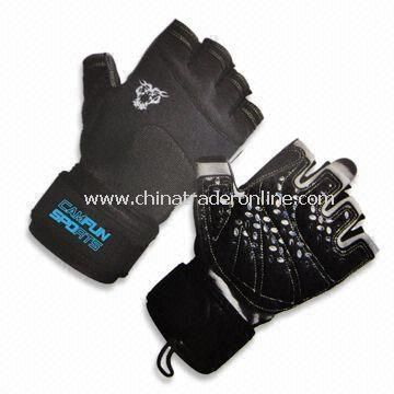 Sports Gloves, Made of Neoprene Material, Suitable for Weightlifting