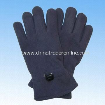 Womens Fleece Gloves with Thinsulate Lining