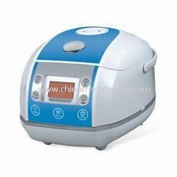 4L Rice Cooker with Non-stick Coating, 220 to 240V Voltage, 2.0mm Thickness