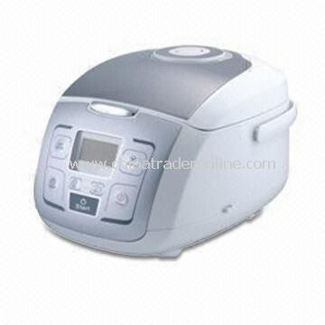 950W Computer Rice Cooker with 2.0mm Thickness, Anti-spillover Steaming Valve
