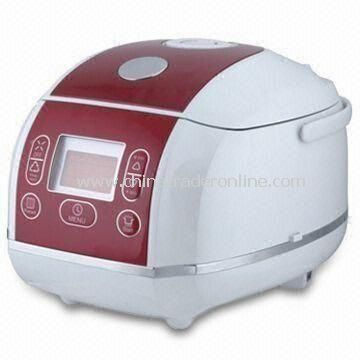 Computer Rice Cooker with Anti-spillover Steaming Valve, 2.0mm Thickness