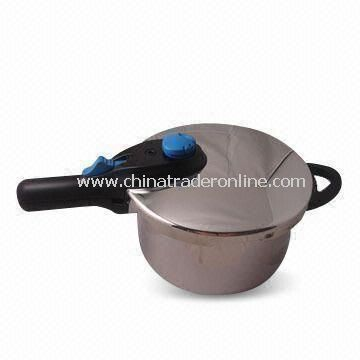 Explosion-proof Pressure Cooker in 5L Capacity, Made of SUS304 Stainless Steel