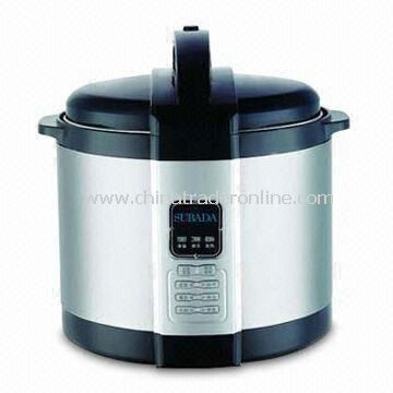 Fashionable Pressure Cooker with Thick Honeycomb Patterned Inter Pot