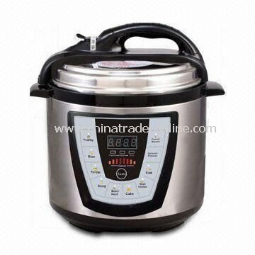 High Thermal Efficiency and Energy-saving Electric Pressure Cooker, OEM/ODM Orders are Welcome