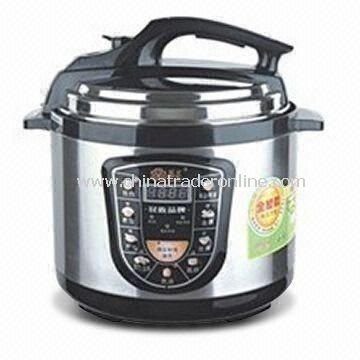 Household Electric Pressure Cooker with 200 to 240V Voltage and 800W Power