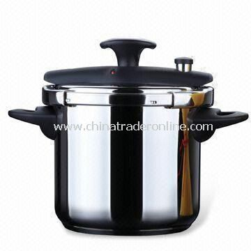 Pressure Cooker, Available in Various Capacities, Made of Stainless Steel