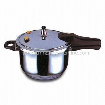 Pressure Cooker with Stainless Steel Material and Heat-resistant Bakelite Handle from China