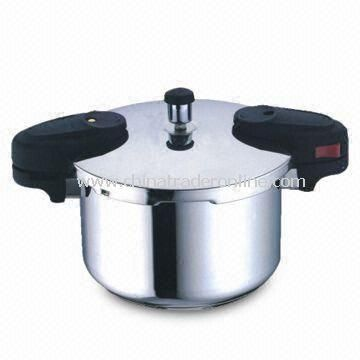 Pressure Cooker with Up to 5L Capacity, Made of Stainless Steel