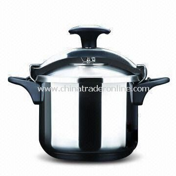 Steel Pressure Cooker with 4 to 10L Capacity, Corrosion-resistant from China