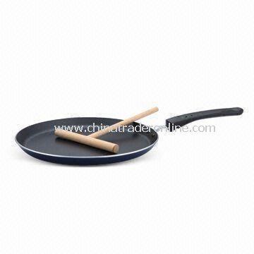 Crepe Pan with Bakelite Handle, Made of Aluminum