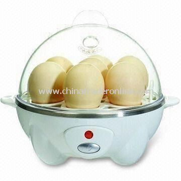 Egg Poacher with PP Bowl, 7 Eggs Capacity, 360W Power