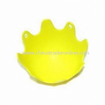 Silicone Egg Poacher, Made of Imported Eco-friendly Silicone Raw Material, Weights 21g from China