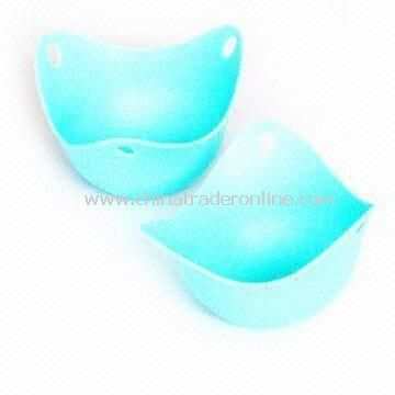 Silicone Egg Poacher with Heat-resistant, Suitable for Baking and Molding