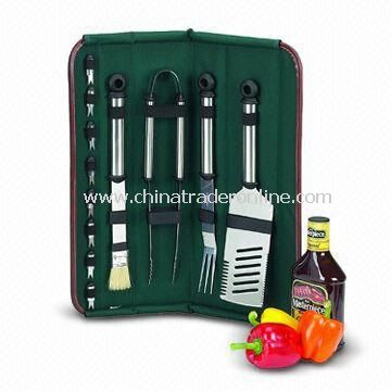 BBQ Set with Dishwasher-proof and Corn Holders