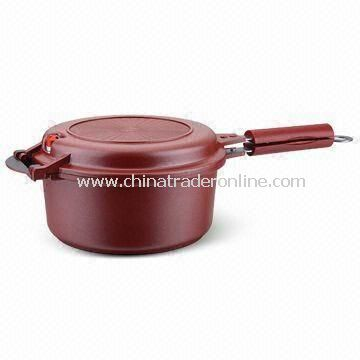 Double Grill Pan with Teflon Coating, Made of Aluminum